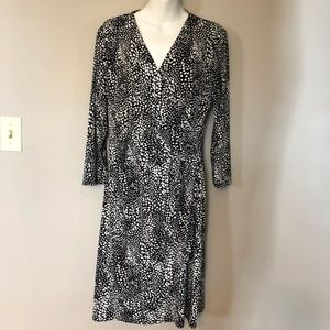 Black and white dress size M